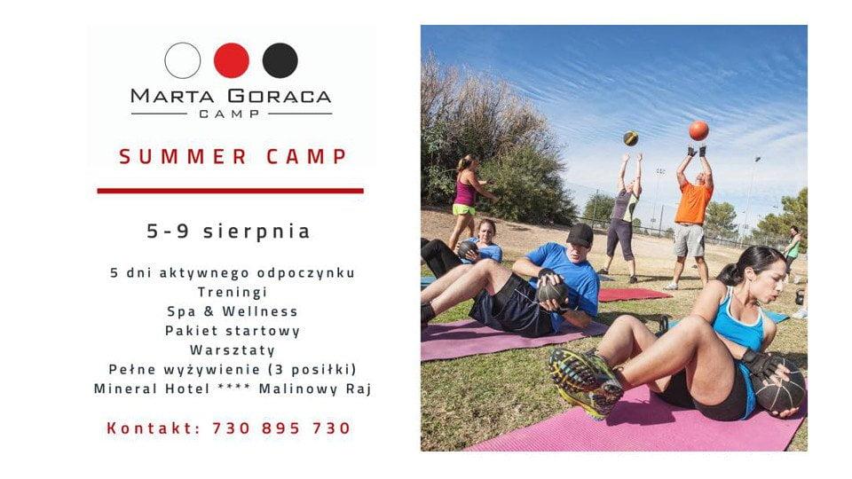 SUMMER CAMP 5 - 9 sierpnia Marta Gorąca